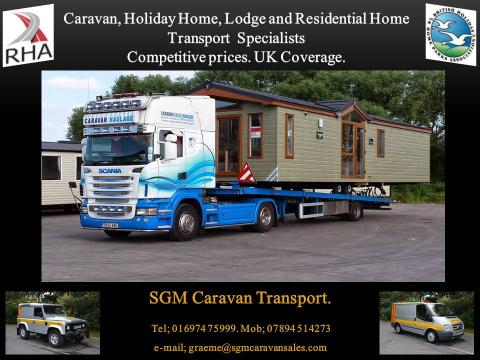 SGM CARAVAN SALES, The Lake District's No 1  Holiday Home